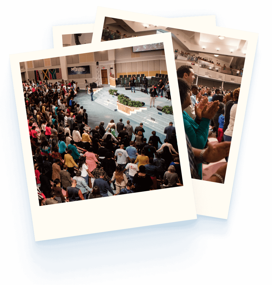 Photos of Church Congregations