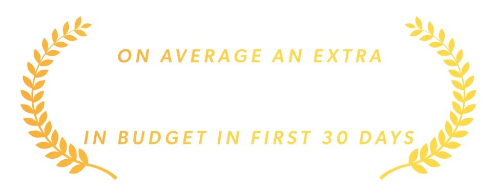 On average $332 found in the first 30 days