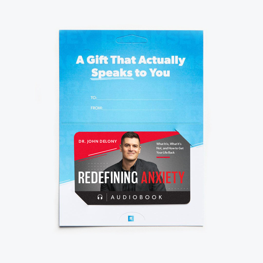 Redefining Anxiety by Dr. John Delony Audiobook Gift Card