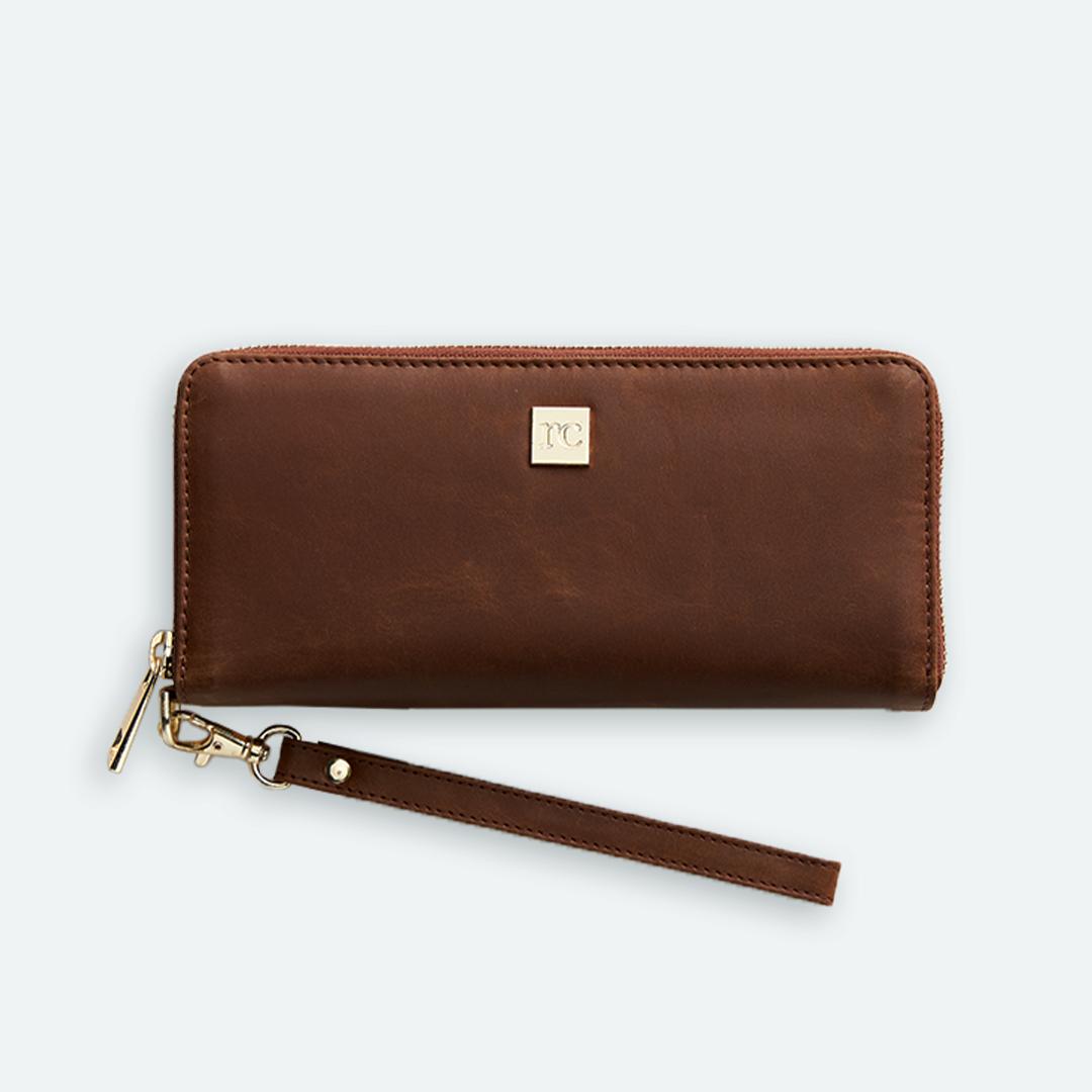 New! Rachel Cruze Wallet in Brown