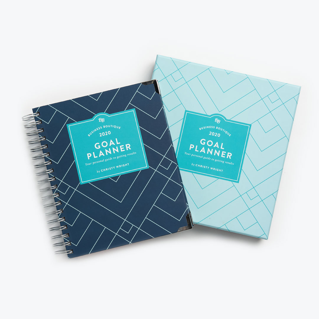 Business Boutique 2020 Goal Planner