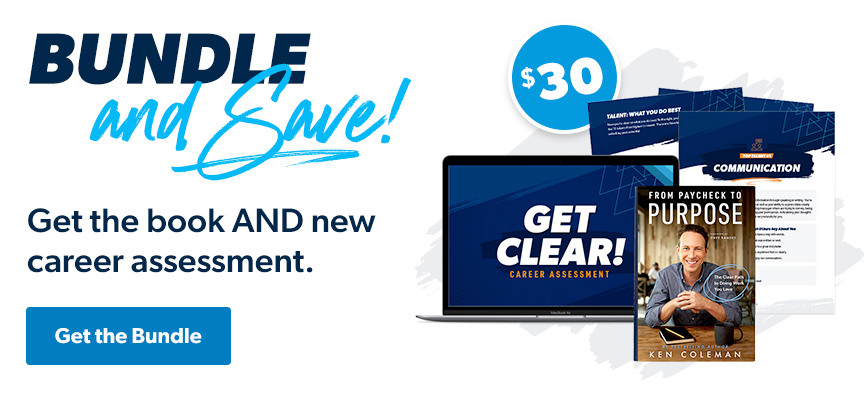 Bundle and Save - The Ultimate Career Bundle includes Ken Coleman's brand new book PLUS the assessment