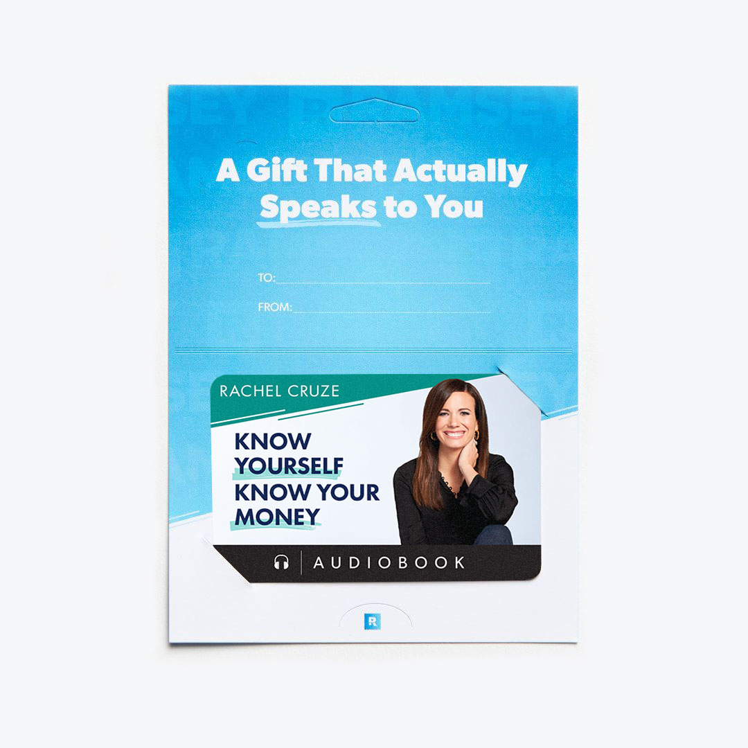 Know Yourself, Know Your Money Audiobook Gift Card
