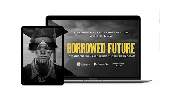 Ramsey Solutions Store: Borrowed Future Documentary Now Streaming