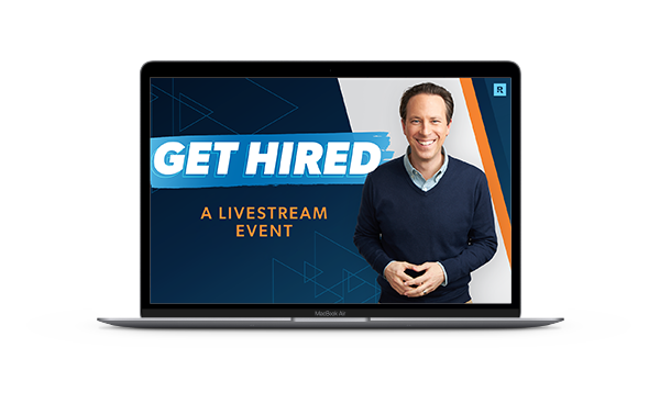 Get Hired Livestream Event - April 27, 2021