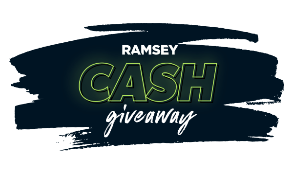 Ramsey Cash Giveaway - Enter For Your Chance to Win Up to $3,000