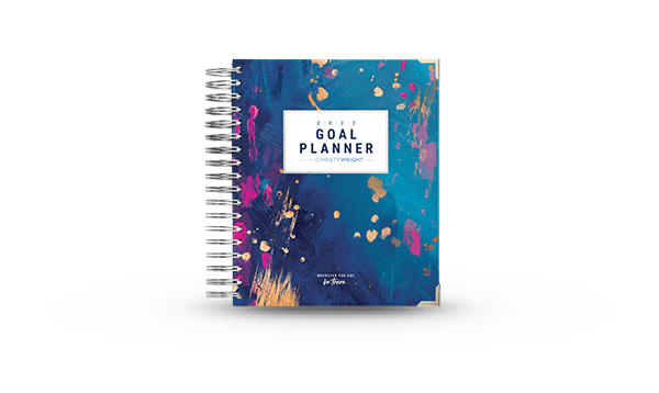 Ramsey Solutions Store - Christy Wright's 2022 Goal Planner - Now on Sale for $44.99