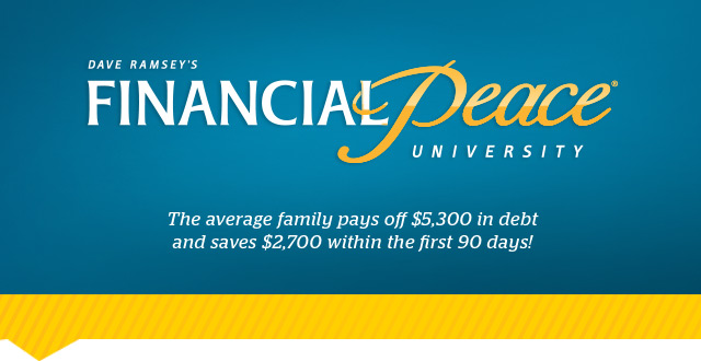 Dave Ramsey Financial Peace University Home Study FPU | eBay