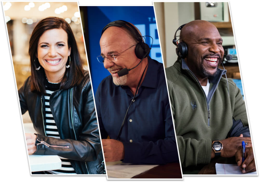 Rachel Cruz, Dave Ramsey, Chris Hogan