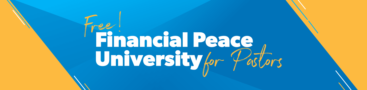 Free Financial Peace University for Pastors