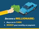 Illustration cash invest