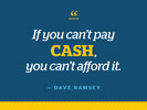 Quote pay cash