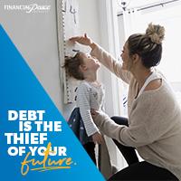 Instagram - Debt is a thief.