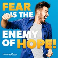 Instagram - Fear is the enemy.