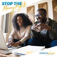 Instagram - Stop money fights.