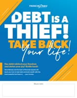 Poster - Debt is a thief.