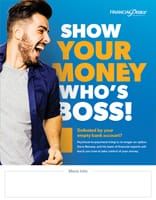 Poster - Show your money who's boss.