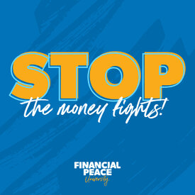 Financial Peace Social Media Post - Stop the money fights.