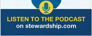 Podcast button desktop