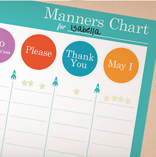 Activities manners